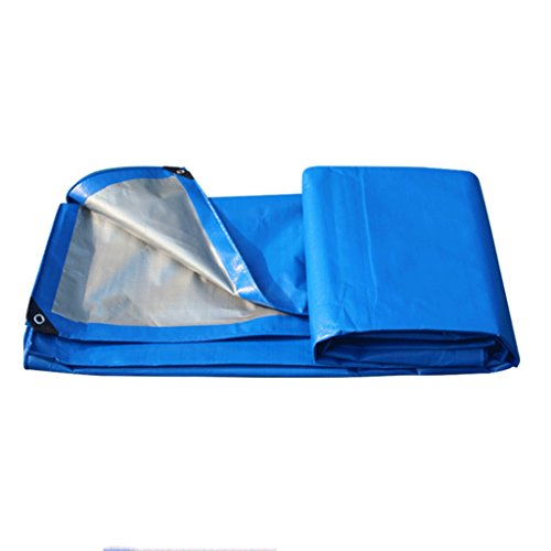 Great St. DGF Tarpaulin Waterproof Cloth Outdoor Sunscreen Plastic Truck Heat-resistant, Easy-to-fold Outdoor Dustproof And Waterproof Cloth, Thickness 0.32mm, 200g/m2, 13 Size Options (Size : 4x5m)