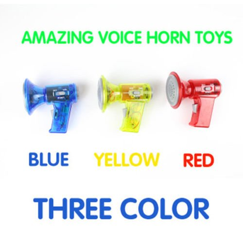 Deluxe Voice Changer (MAZIMARK-1PCS Cartoon children Change of voice horn Mini Voice Changer Hot Sale)