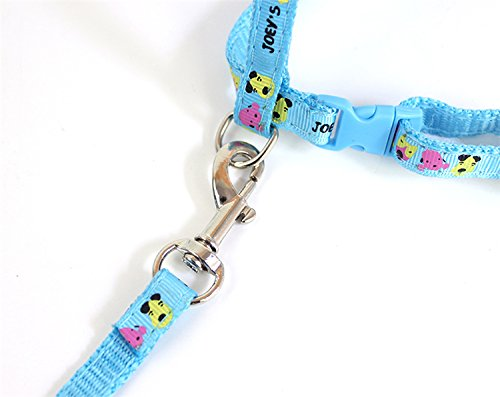 WORDERFUL Cat Harness and Leash Set Adjustable Pet Harness Vest 2 Pack for Small Animal Pattern Random by WORDERFUL (Image #5)
