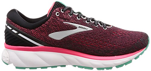 11 Chaussures Ghost pink Femme aqua black De Brooks 017 Running Multicolore E5qZdwP