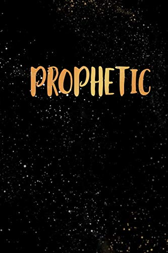 Prophetic: Blank Lined Journal Notebook, 120 Pages, Soft Matte Cover, 6 x 9