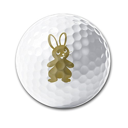 Carlyle Bunny - Recycled Golf Balls Good Quality Used Golf Balls Cute Bunny Rabbit 02 Golf Balls