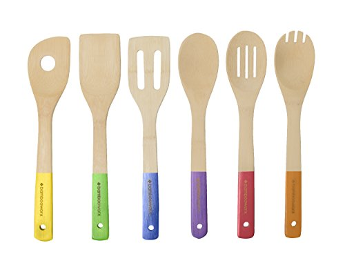 BambooWorx Multi Color Cooking Utensils Spatulas product image