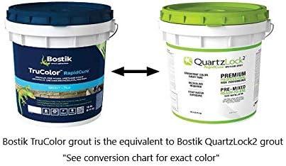 Bostik Trucolor Rapidcure Grout 9lbs H224 Mushroom Amazon Com