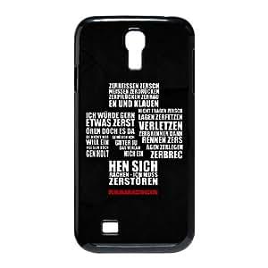 Rammstein OS74UK2 funda Samsung Galaxy S4 tel¨¦fono celular caso funda Q7QK6J6NA