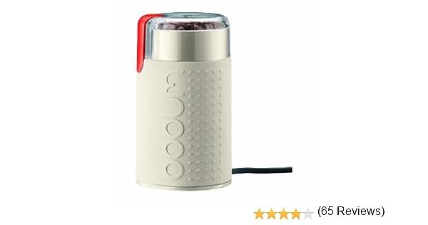 Bodum Bistro Electric Coffee Grinder, White: Amazon.es: Hogar