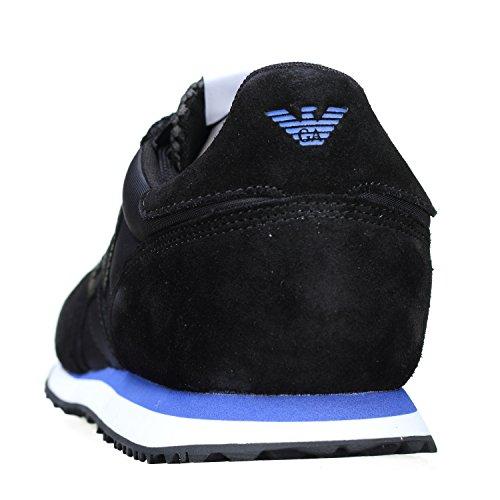 Armani Jeans Schuhe Shoe Herrenschuhe Sneaker 935027 schwarz