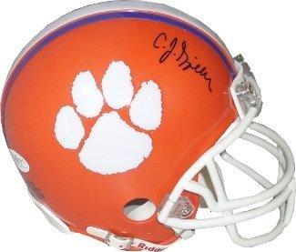 98a9b73a6 C.J. Spiller signed Clemson Tigers Replica Mini Helmet- Hologram - JSA  Certified - Autographed College