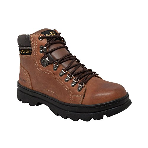 6 Inch Hiker (AdTec Men's 6 Inch Boot Work Hiker, Crazy Horse, 8.5 W US)