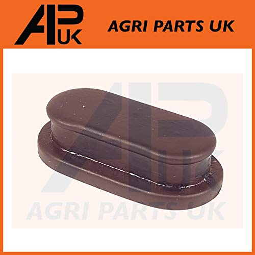 APUK Brake Drum Back Plate Rubber Plug Grommet compatible with Ford 2000 2600 3000 3600 4000 4110 etc Tractor