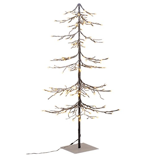 Lightshare Lighted Snow Fir Tree, Large by Lightshare (Image #3)