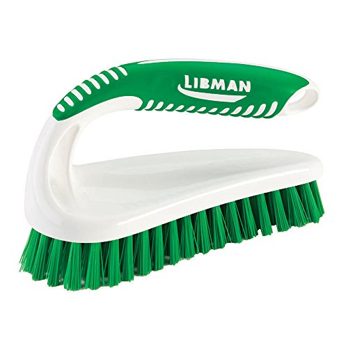 Libman Commercial 57 Power Scrub Brush, Polypropylene, 7