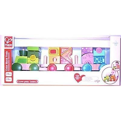 Hape Color Block Train: Toys & Games