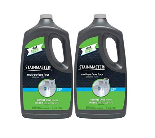 Stainmaster Multi-Surface Floor Cleaner Solution Refill Jug, Citrus Scent, 64 FL OZ (Pack of 2)