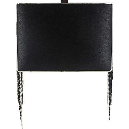 sondra-roberts-fringe-box-clutch-black-silver