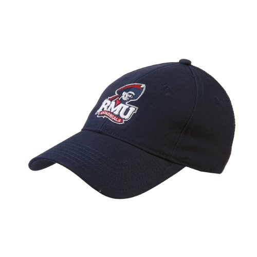 Colonial Eyelet (Robert Morris Navy Twill Unstructured Low Profile Hat 'RMU Colonials w/Head')