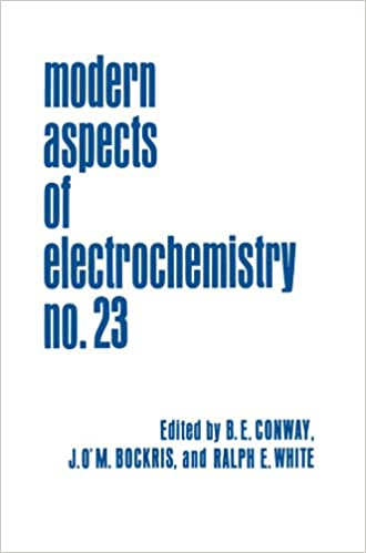 Modern Aspects of Electrochemistry No. 23: An ICMI Study