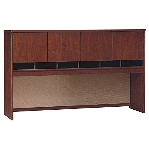 Door Four Cherry - Bush Business Furniture Series C 72W 4 Door Hutch in Hansen Cherry