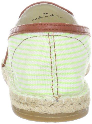 Joie Womens Adrien Flat Mint Stripe