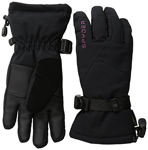Spyder Women's Traverse Gore Tex Ski Gloves, Large, Black/Voila