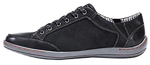 Muk Luks Heren Heren Brodi Schoenen Fashion Sneaker Zwart