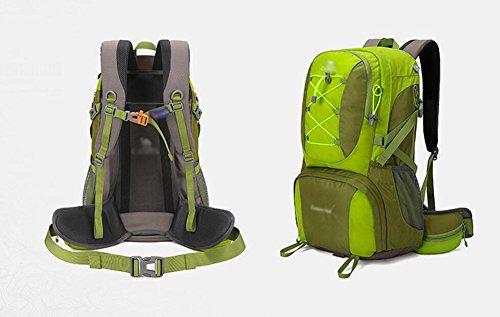 HWLXBB Outdoor Bergsteigen Tasche Männer und Frauen Leicht Mehrzweck Bergsteigen Tasche Wandern Camping Reisen Bergsteigen Rucksack ( Farbe : 3* )
