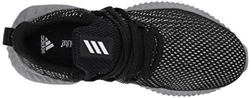 Adidas Kids Alphabounce Instinct, Black/White/Grey, 1 M US Little Kid by adidas (Image #8)