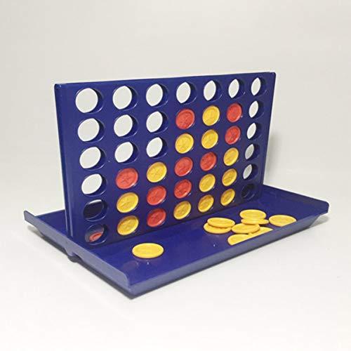 FHJZXDGHNXFGH Nuevos Juguetes Inteligentes para Juegos El Juego Tridimensional de Cuatro Juegos Cuatro ajedrez y Cinco…