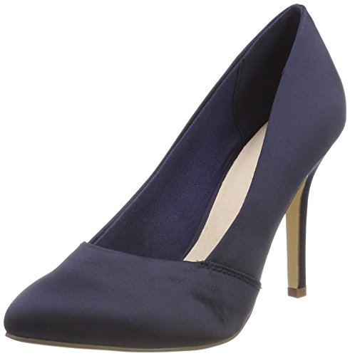 Blue Escarpins Pump Blau Bianco Navy 100 Bout 2 Loafer Fermé Femme ZqaURzxa