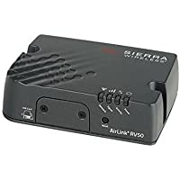 Sierra Wireless AirLink Raven RV50 Industrial LTE Gateway with Ethernet/Serial/USB/GPS - North America - AC Adapter
