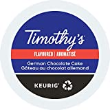 Timothy's, German Chocolate Cake, Single-Serve Keurig K-Cup Pods, Medium Roast Coffee, 48 Count (2 Boxes of 24 Pods)