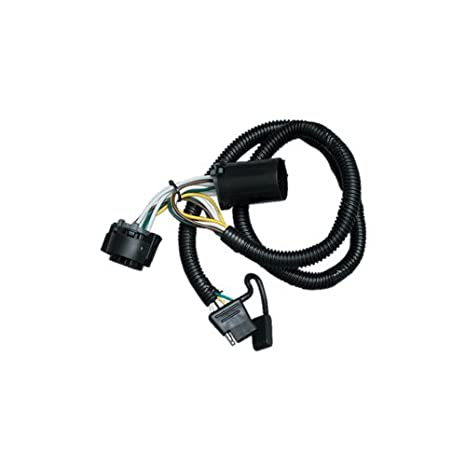 amazon com: vehicle hitch wiring for - chevrolet - silverado - 1999-2018 -  with factory 7-way, t-one connector assembly: automotive
