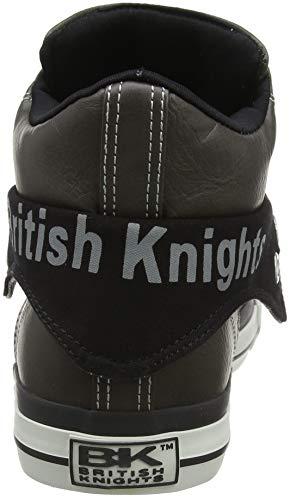 dk adulto Grigio Grey British Alto Roco Sneaker Unisex Blk A Collo 2 Knights R1qpxzwU