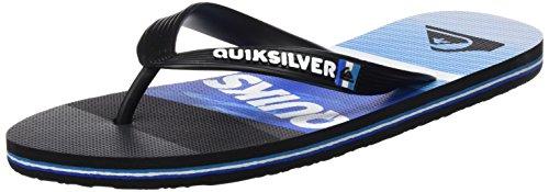 black Molokaislashlog Quiksilver blue Tongs Multicolore blue Homme avqP6