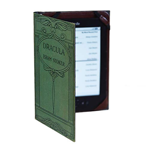 Universal Kindle eReader Case Classic Book Cover (Compatible with Paperwhite 2018) (Bram Stoker's Dracula)