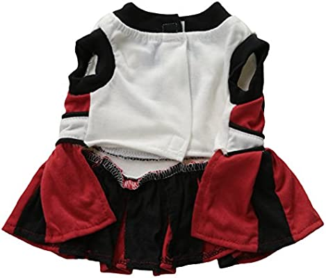 Pets First Georgia Bulldogs Cheerleading Outfit