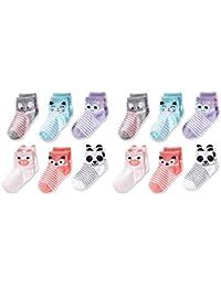 Little Girls' 12 Pack Shorty Socks