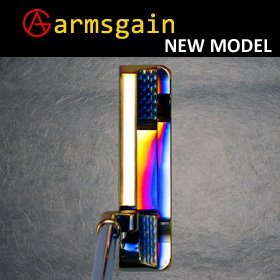 最高級品【世界的デザイナー 沼沢雄二氏設計】 アームスゲイン  armsgain Model-01パター響スティール DLCコーティング仕様 完成品 B01N3BSNYV