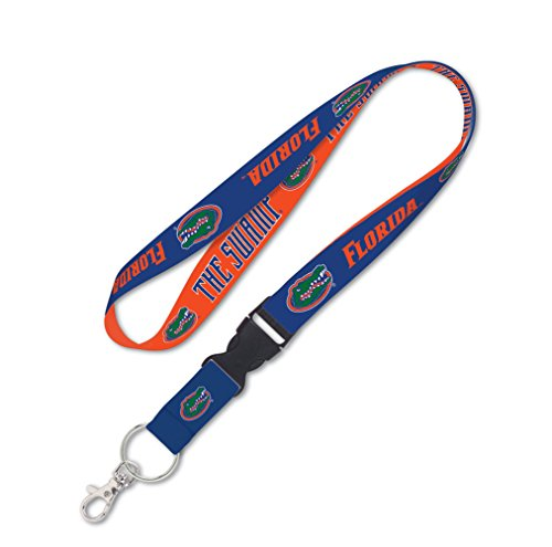 - NCAA Florida Gators Lanyard with Detachable Buckle, 1-Inch