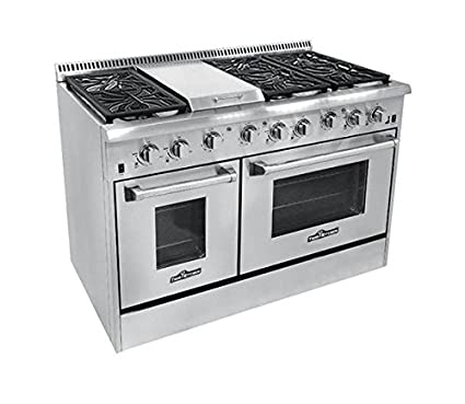 gas burner thor amazon double oven with rkpl com dp range kitchen