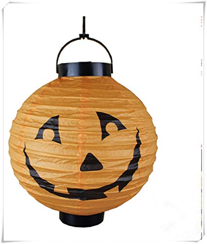 Halloween Ghost Festival Supplies, bar Decorations, Paper Lanterns Pumpkin Lanterns, Pumpkin Ghost Lights. -