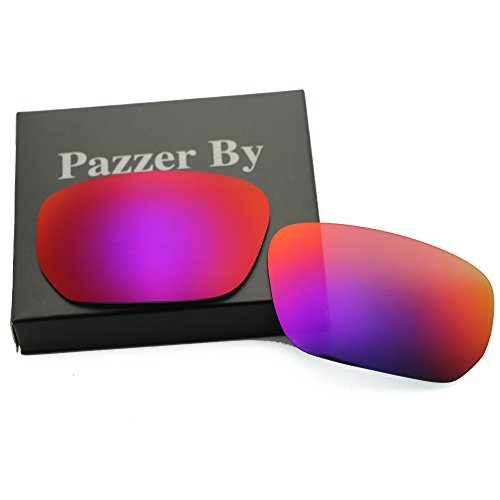 Polarized Replacement Lenses for Oakley Style Switch - Midnight Sun Mirrored - Sunglasses Replacement Lens Switch