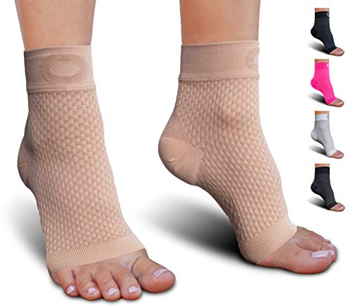 - Plantar Fasciitis Socks with Arch Support for Men & Women - Best Ankle Compression Socks for Foot and Heel Pain Relief - Better Than Night Splint Brace, Orthotics, Inserts, Insoles