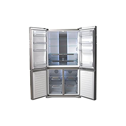 New-Pol OMEGA910X Freestanding Stainless steel 410L 210L A+ nevera ...
