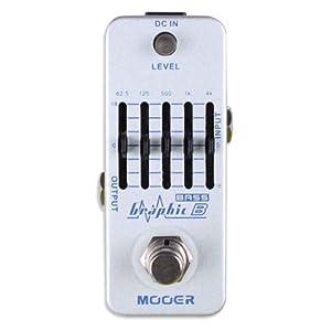 Mooer Baby Tuner Pedale Accordatore Cromatico – Graphic B Bass EQ