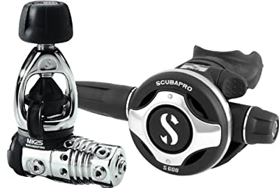 Scubapro MK25/S600 Scuba Diving Regulator - 2013 Version