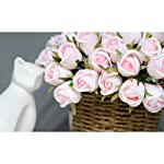 T4U-36-Heads-Artificial-Flowers-Silk-Faux-Flowers-Bouquet-Fake-Roses-with-Stems-in-Bulk-for-Flowers-Arrangement-Wedding-Bouquet-Table-Centerpieces-Home-Garden-Party-Decoration-Pink18pcsPack
