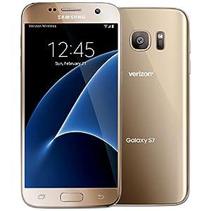 Samsung Galaxy S7 G930V 32GB Verizon CDMA 4G LTE Octa-Core Smartphone w/ 12MP Camera - Gold (Certified Refurbished, Good Condition)