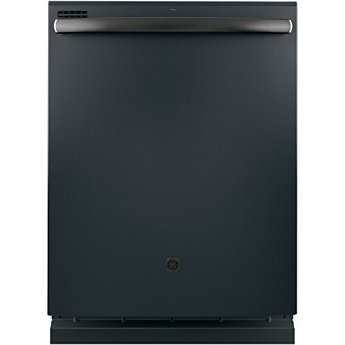 "GE 24"" Top Control Tall Tub Built-In Dishwasher Black Slate GDT545PFJDS"