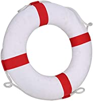 49 cm / 19.3 Inches Diameter Swim Foam Rings Buoy Swimming Rings for Children -Has Higher Safety Factor-with L